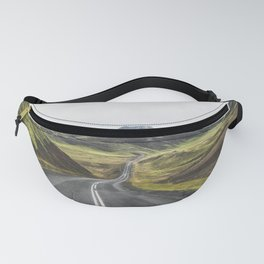 Winding Road Iceland Fanny Pack