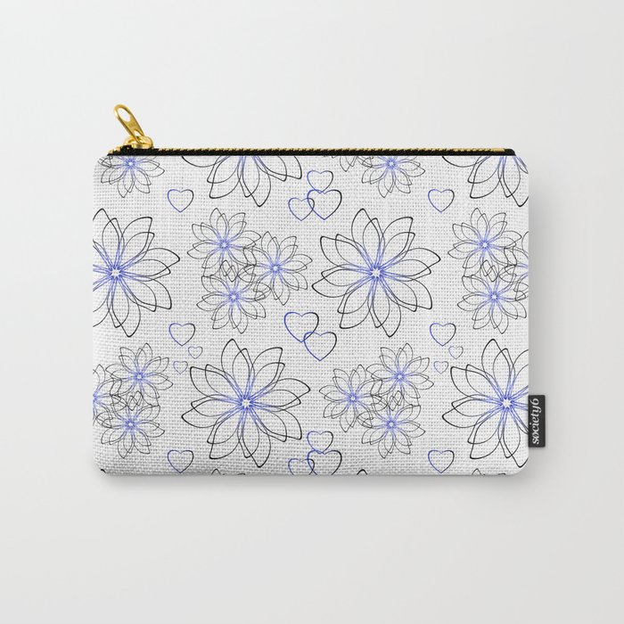 Cute floral pattern. Carry-All Pouch