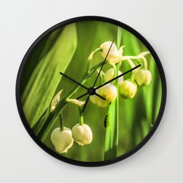 Craving to a beauty Wall Clock