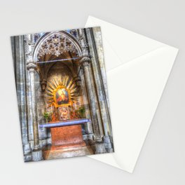 Saint Padre Pio St Stephens Cathedral Vienna Stationery Cards