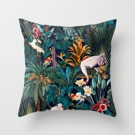 Beautiful Forest III Throw Pillow