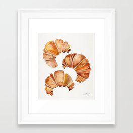 Croissant Collection Framed Art Print