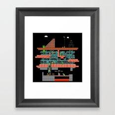 lord of mario turtles  Framed Art Print