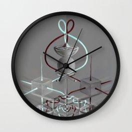 Jaleos de Mercurio en Estados Inversos Wall Clock