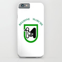 flag of marche iPhone Case