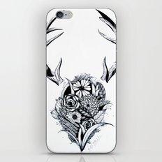 Antler Bouquet Black&White iPhone & iPod Skin