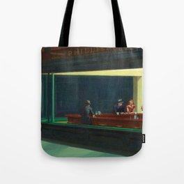NIGHTHAWKS - EDWARD HOPPER Tote Bag