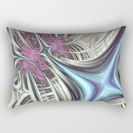 Cosmic Orchid - Fractal Art Rectangular Pillow