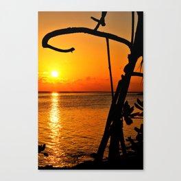 Sunrise The Maldives Canvas Print