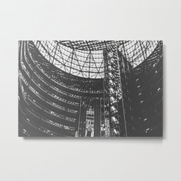 Shadows & Lines in Chicago Metal Print
