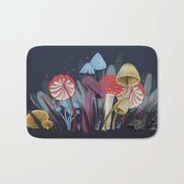 Wild Mushrooms Bath Mat