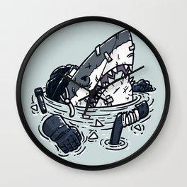 The Goon Shark Wall Clock