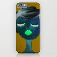 portrait of a girl iPhone 6s Slim Case