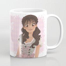 OKTOBERFEST Pink Dirndl Girl Coffee Mug