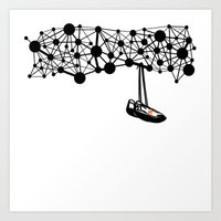the Shoes Art Print