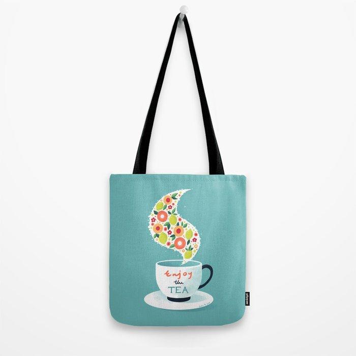 Enjoy the Tea Tote Bag