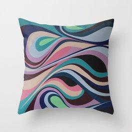 Pink Coma Throw Pillow