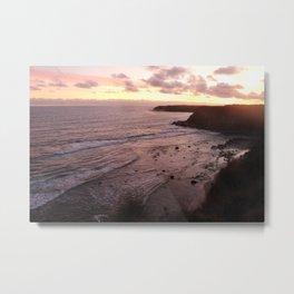 Inverloch Sunset Metal Print