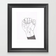 Beads Framed Art Print