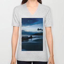 Polo Beach Dreams Maui Hawaii Unisex V-Neck