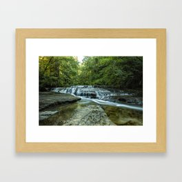 Ledge Falls, No. 2 Framed Art Print