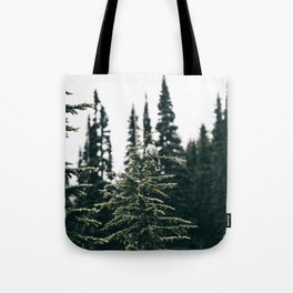 Grey Jay in The Trees Tote Bag