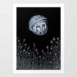 russian dream Art Print
