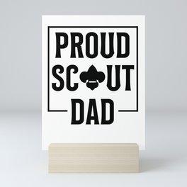 Scout Dad Mini Art Print