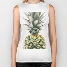 Tropical Pineapple Fruit Biker Tank