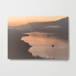 Pacific Northwest Sunrise - nature photography Metal Print
