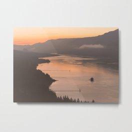 Pacific Northwest Sunrise - nature photography Metal Print