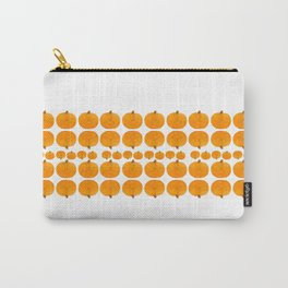 Pumpkin Pattern | Rustic Carry-All Pouch