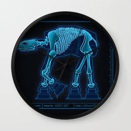 At-At Anatomy Wall Clock
