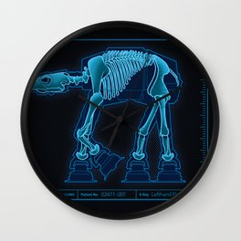 At-At Anatomy Wall Clock