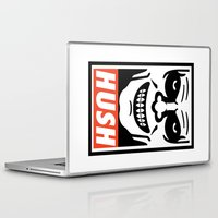 buffy Laptop & iPad Skins featuring Buffy the Vampire Slayer -- Hush by BovaArt