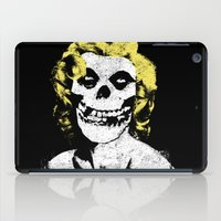 misfits iPad Cases featuring Misfits Monroe by AtomicChild
