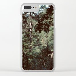 Forest Escape (Tivoli Park) Clear iPhone Case