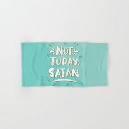 Not Today, Satan – Mint & Gold Palette Hand & Bath Towel