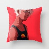 homestuck Throw Pillows featuring di-stri by dacadaca