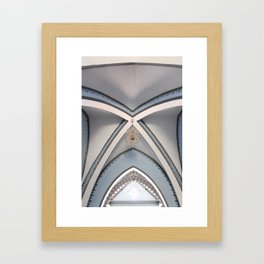 Basilica of Our Lady of El Valle - Ceiling Framed Art Print