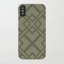 Simple Geometric iPhone Case