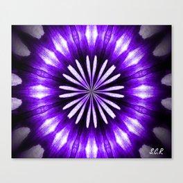 Purple Crown Canvas Print