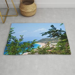 The Sea and Mountains Rug