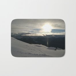 On the mountains, me and the sun, between the clouds Bath Mat
