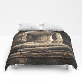 Beheaded Bhudda Comforters