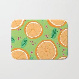 Orange You Cute Bath Mat