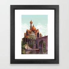 The Beast's Castle Framed Art Print