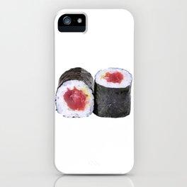 Hosomaki tune iPhone Case