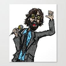 Jarvis Cocker Pulp 2 Canvas Print