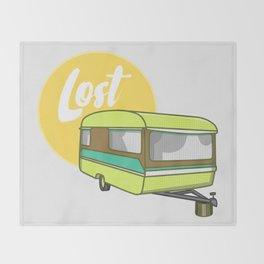 Caravan Lost Throw Blanket